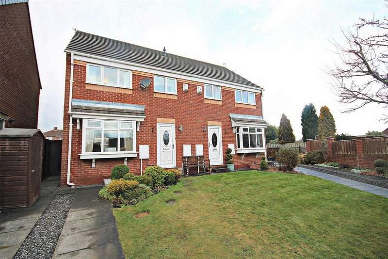 3 Bedrooms Semi Detached House for sale in Highfield Rise, Chester Le Street