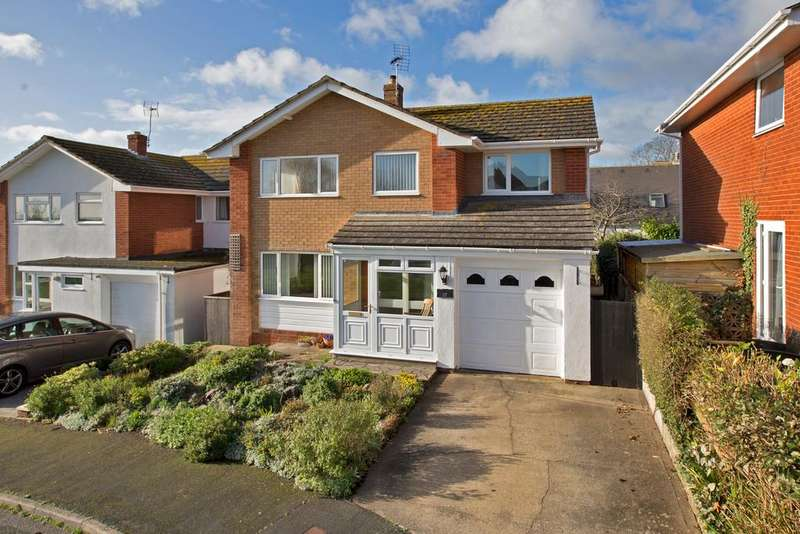 4 Bedrooms Detached House for sale in Boyds Drive, Teignmouth, TQ14 8PU