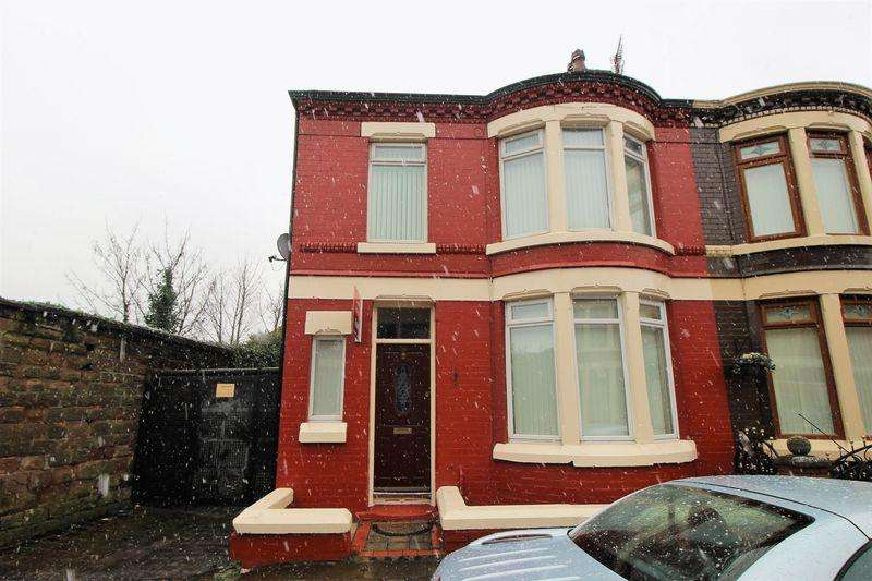3 Bedrooms Terraced House for rent in Well Brow Road, Liverpool L4