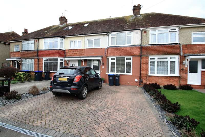 3 Bedrooms Terraced House for sale in Lindum Road, Worthing, West Sussex, BN13