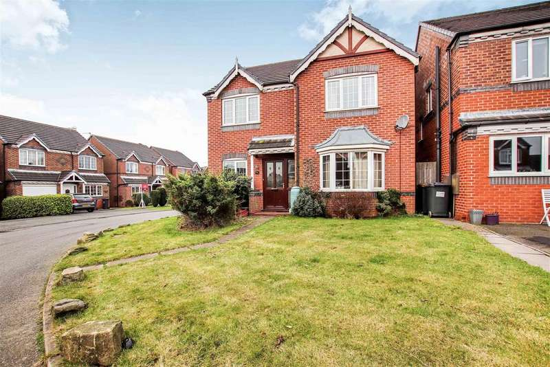 4 Bedrooms Detached House for sale in Bargrave Drive, Bradwell, Newcastle, Staffs