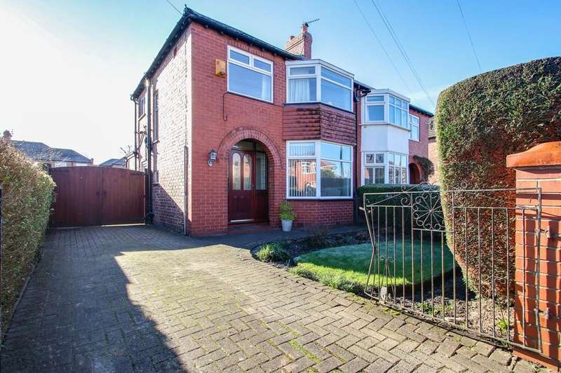 3 Bedrooms Semi Detached House for sale in Oban Drive, Sale, Cheshire, M33