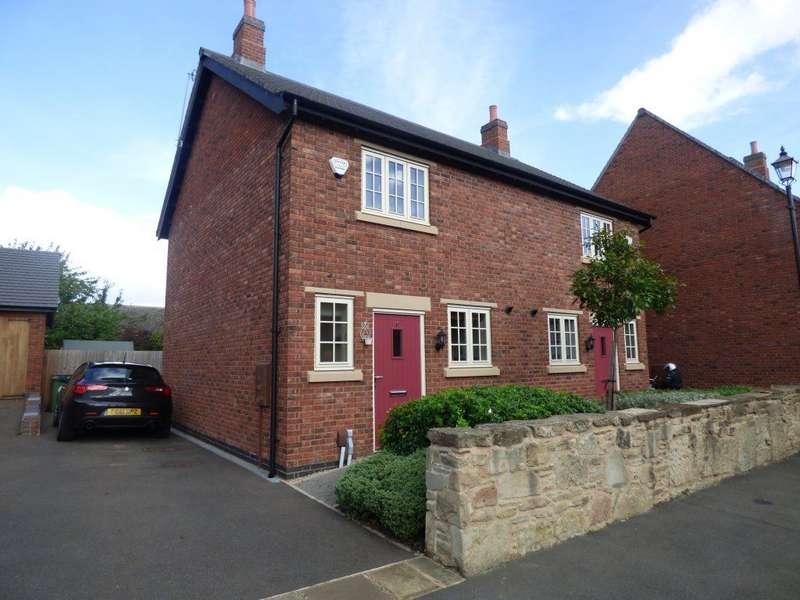 2 Bedrooms Semi Detached House for rent in De Lacy Court, Castle Donington DE74 2AD