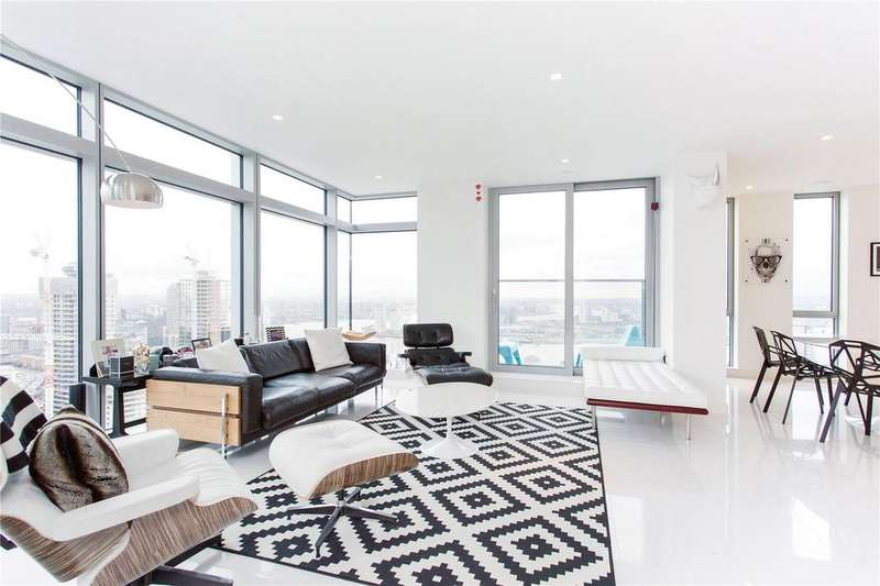 3 Bedrooms Flat for sale in 3 Pan Peninsula Square, Canary Wharf, London, E14