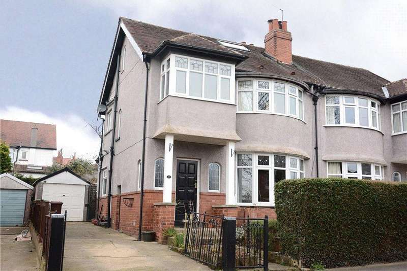 4 Bedrooms Semi Detached House for sale in Falkland Rise, Leeds, West Yorkshire