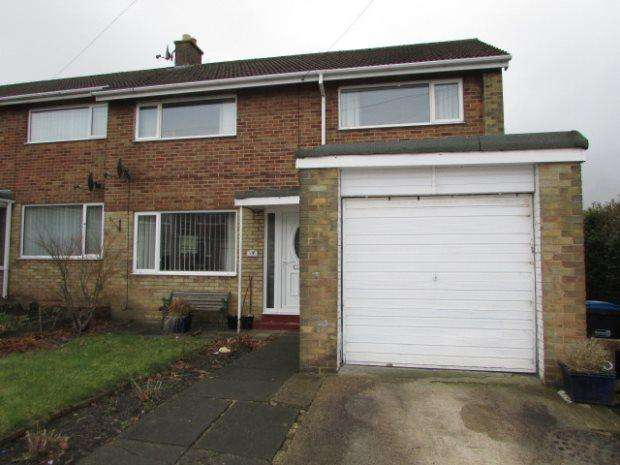 3 Bedrooms Terraced House for sale in ST DAVIDS CLOSE, TUDHOE, SPENNYMOOR DISTRICT