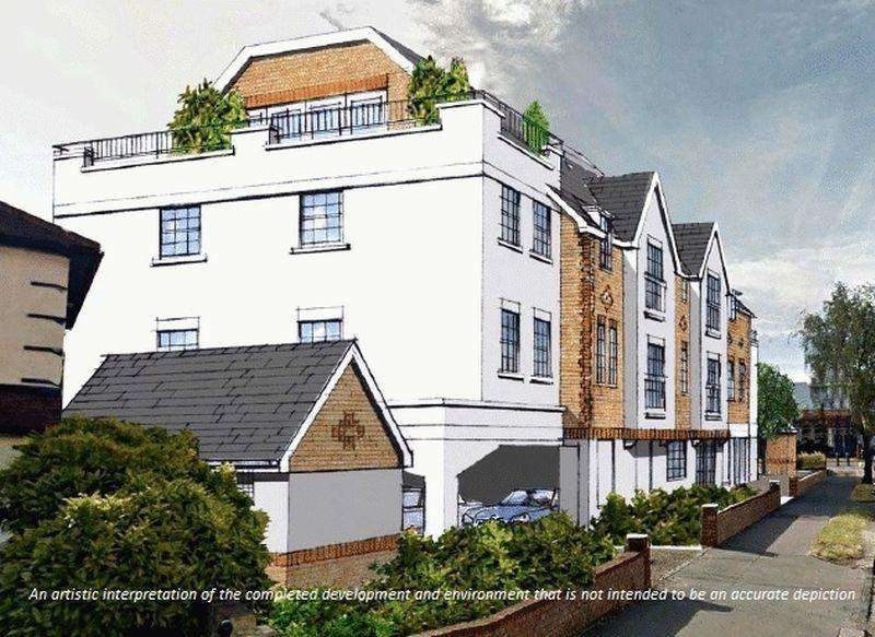 2 Bedrooms Apartment Flat for sale in Carmilla Court, Wickham Road, Shirley