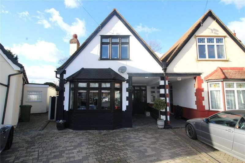 3 Bedrooms Semi Detached House for sale in Allenby Drive, Hornchurch, RM11