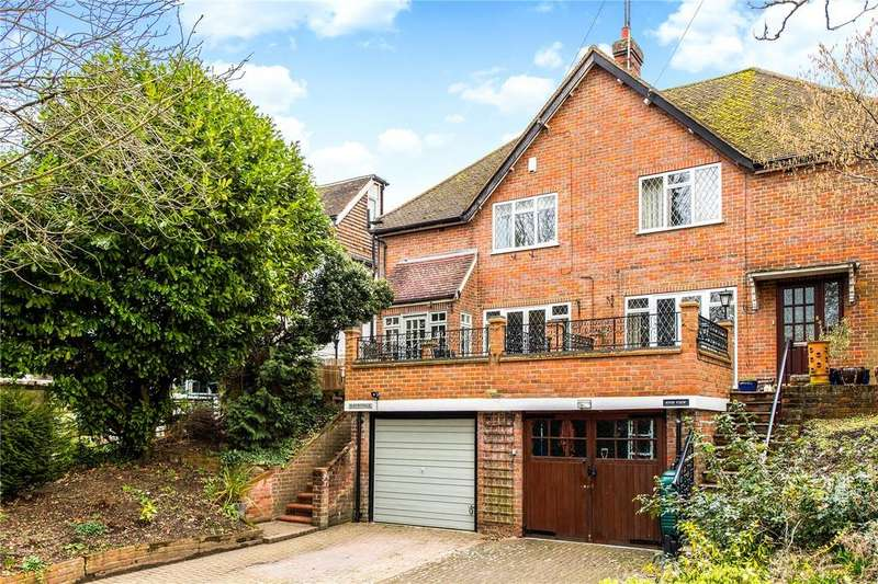 3 Bedrooms Semi Detached House for sale in Station Approach, Chorleywood, Rickmansworth, Hertfordshire, WD3