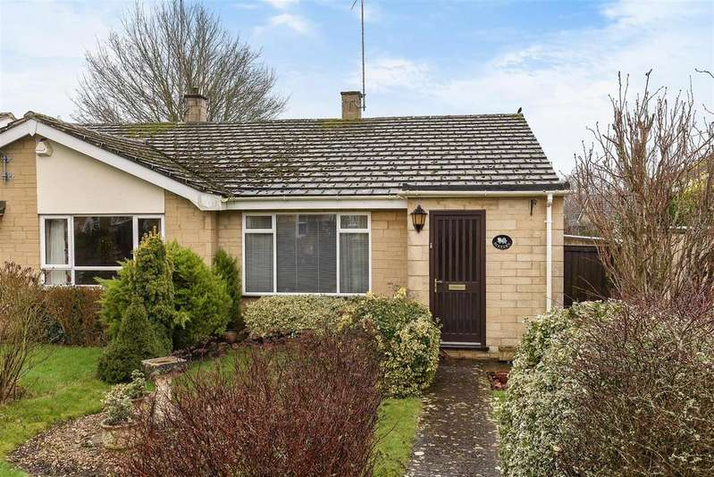 2 Bedrooms Semi Detached Bungalow for sale in The Green, Charlbury