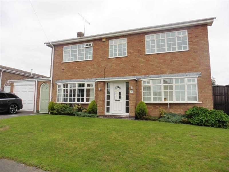 4 Bedrooms Detached House for rent in Maple Way, Earl Shilton