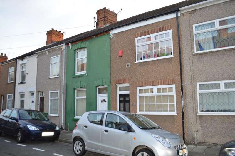 2 Bedrooms Terraced House for sale in Dover Street, Grimsby, North East Lincolnshire, DN31