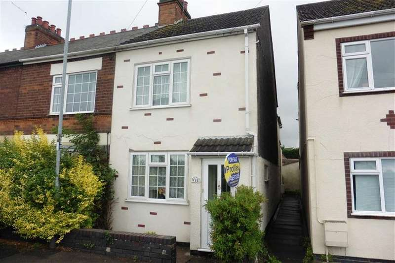 2 Bedrooms Terraced House for sale in Sapcote Road, Stoney Stanton