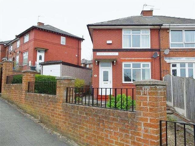2 Bedrooms Semi Detached House for sale in Manor Oaks Place, Sheffield, S2 5EN