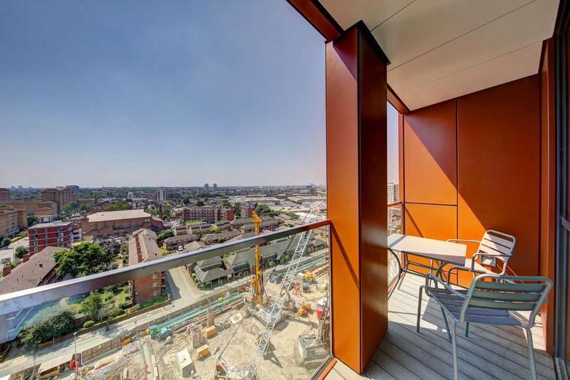 3 Bedrooms Apartment Flat for rent in Pinto Tower, Nine Elms Point
