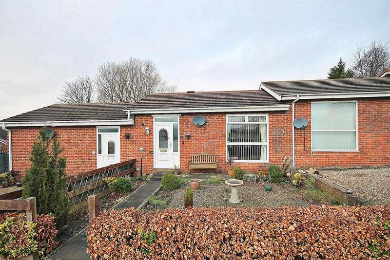 2 Bedrooms Terraced Bungalow for sale in Glanton Close, Chester Le Street