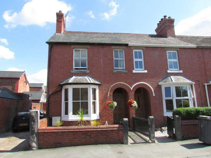 2 Bedrooms End Of Terrace House for sale in Victoria St, Oswestry SY11