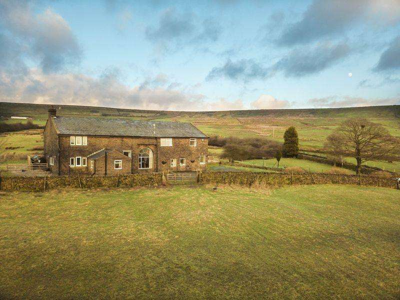 6 Bedrooms Detached House for sale in Market Street, Shawforth, Rochdale