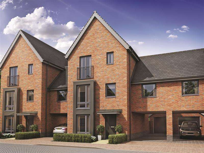 4 Bedrooms Town House for sale in Whitmore Drive off Via Urbis Romanae, Colchester, CO4