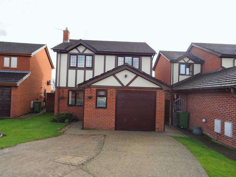 3 Bedrooms Detached House for sale in Meadow Croft, Wrexham