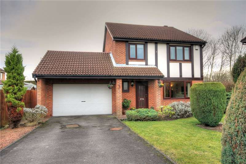 4 Bedrooms Detached House for sale in Castlefields, Bournmoor, Chester le Street, DH4