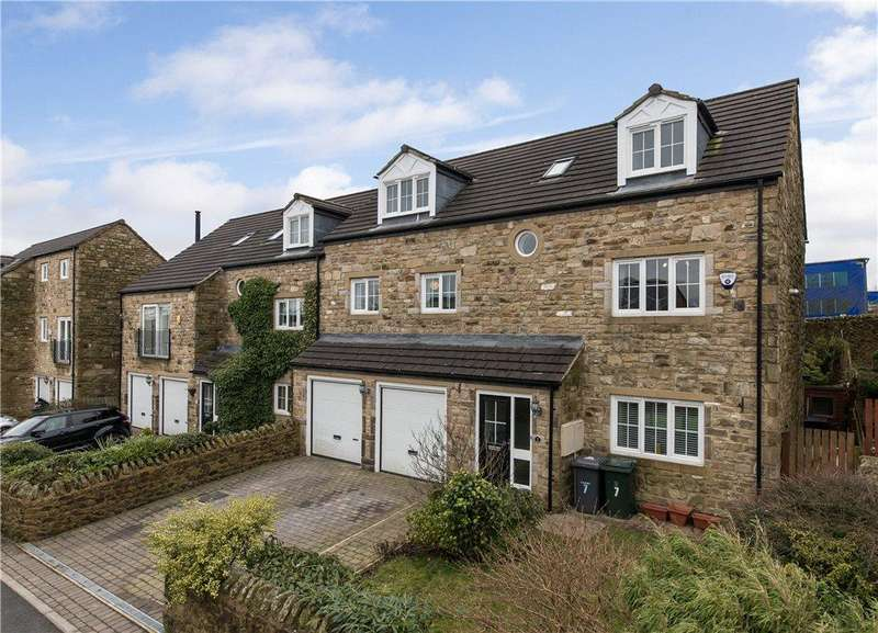 4 Bedrooms Semi Detached House for sale in Lees Moor Meadows, Cullingworth, Bradford, West Yorkshire