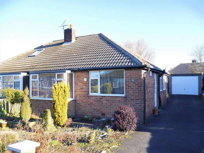 2 Bedrooms Semi Detached Bungalow for sale in Warwick Drive, East Bowling, BD4 7QZ