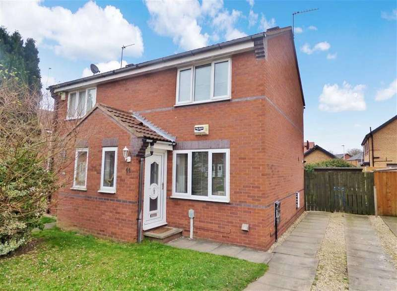 2 Bedrooms Semi Detached House for sale in Cawthorn Drive, Hull