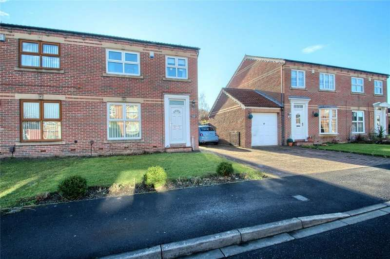 3 Bedrooms Semi Detached House for sale in Franklin Court, Thornaby