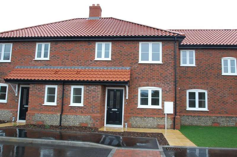 3 Bedrooms Terraced House for sale in Gooch Close, Coast Road, Bacton