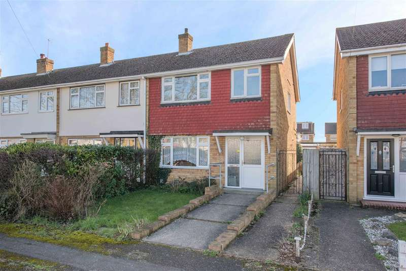 3 Bedrooms End Of Terrace House for sale in Netley Drive, Walton-On-Thames