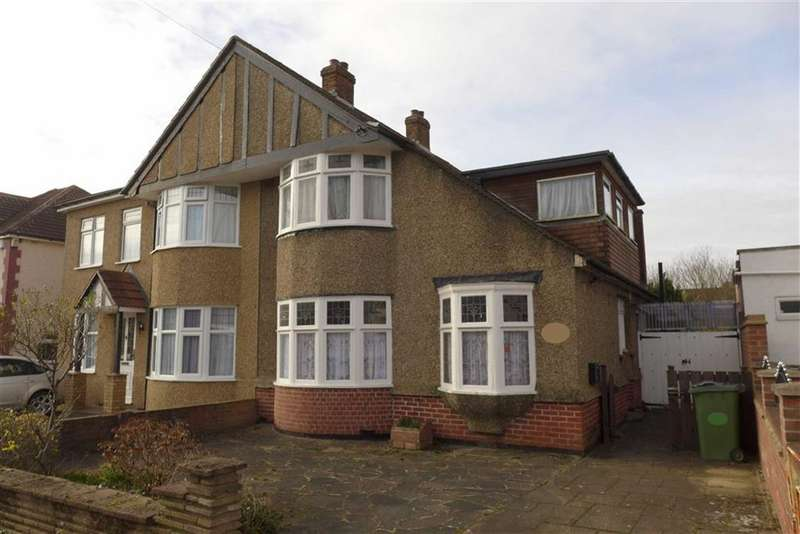 4 Bedrooms Semi Detached House for sale in Borrowdale Avenue, Harrow Weald, Middlesex