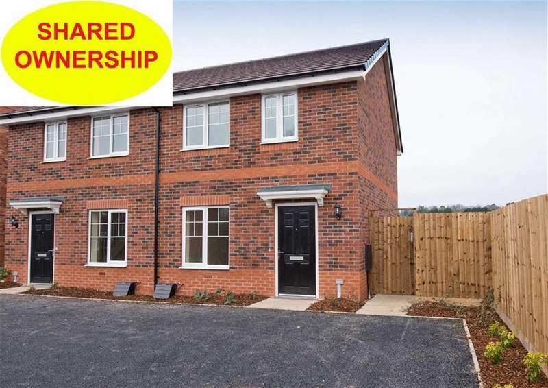 2 Bedrooms Semi Detached House for sale in 11 Bushell Close, Plot 173, Watery Lane, Codsall, Wolverhampton, South Staffordshire, WV8