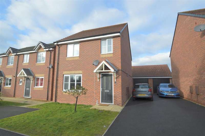 3 Bedrooms Detached House for sale in 24 Woodvine Road, Shrewsbury SY1 4NQ