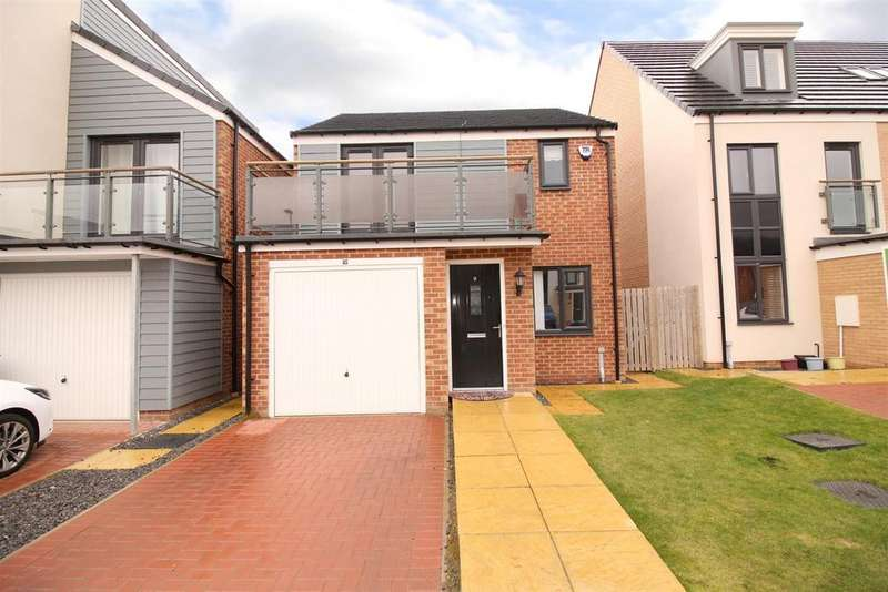 3 Bedrooms Detached House for sale in Greville Gardens, Newcastle Upon Tyne