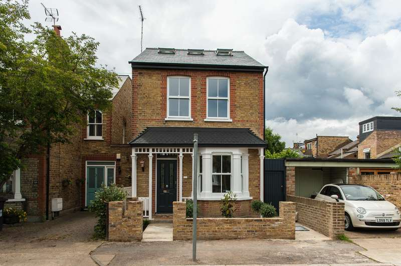 4 Bedrooms Detached House for sale in Clifton Road, Kingston KT2