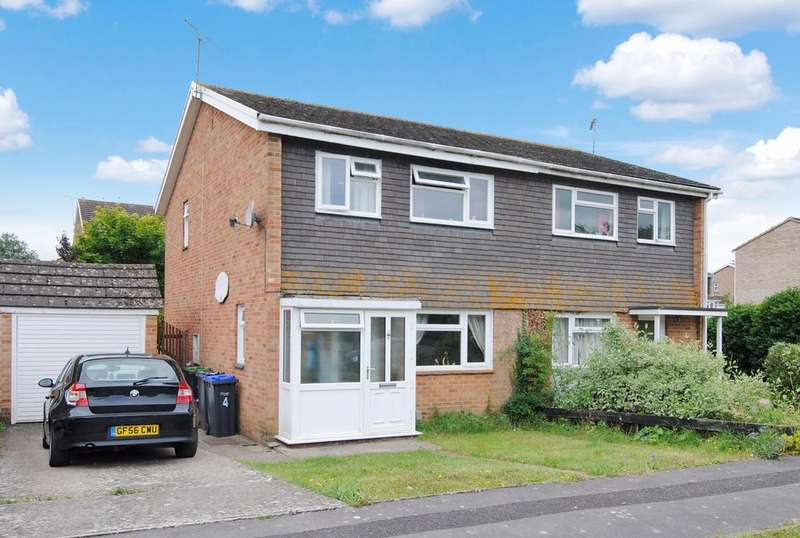 3 Bedrooms Semi Detached House for sale in Burwood Close, Amesbury, Salisbury, SP4 7QH.
