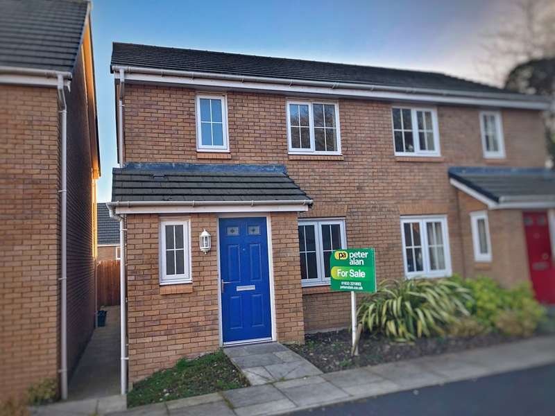 2 Bedrooms Terraced House for sale in Heol Senni, Bettws, Newport