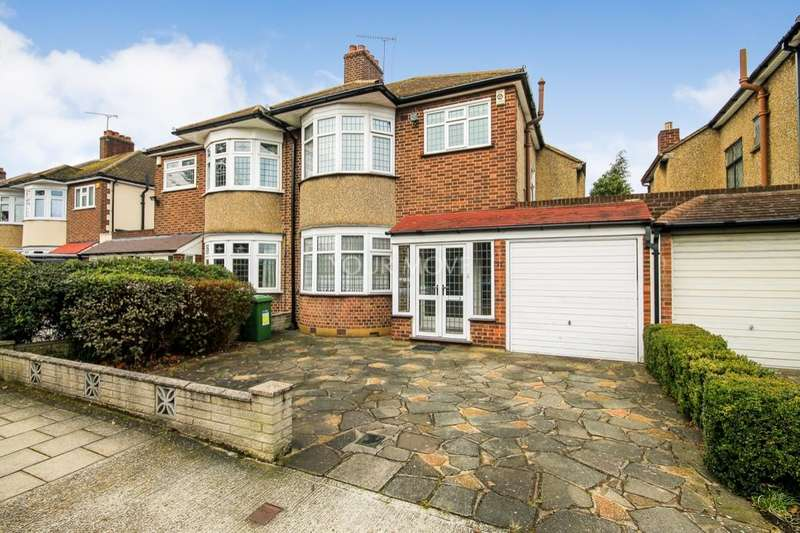 3 Bedrooms Semi Detached House for sale in Pettits Boulevard, Rise Park, Romford, RM1