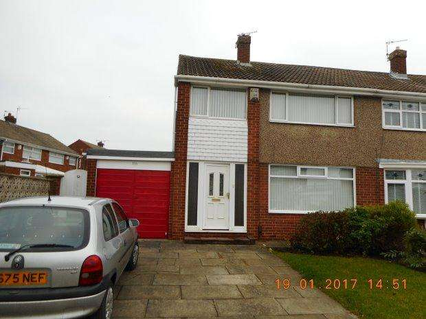 3 Bedrooms Semi Detached House for rent in MOWBRAY ROAD, FENS, HARTLEPOOL
