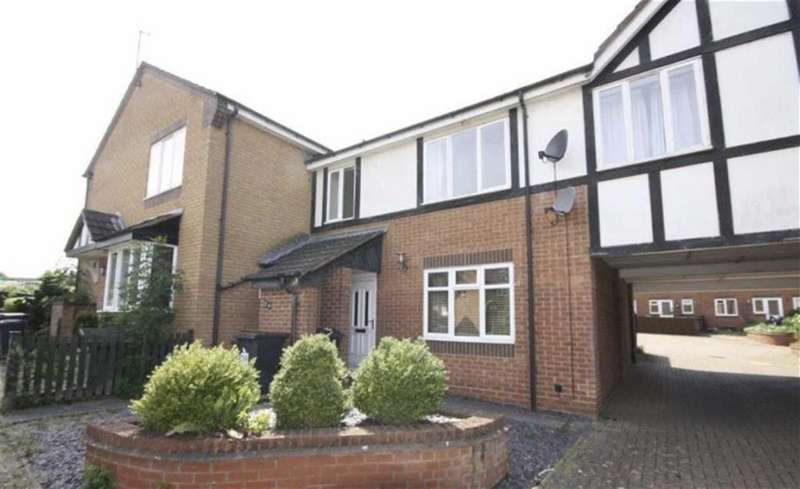 1 Bedroom Maisonette Flat for sale in Rochester Close, Nuneaton, Warwickshire, CV11