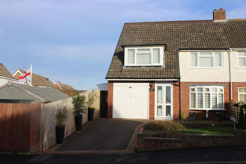 3 Bedrooms Semi Detached House for sale in Scott Road, Tamworth
