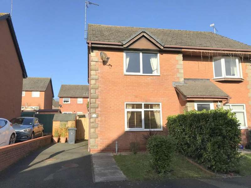 2 Bedrooms Semi Detached House for sale in Campbell Close, Penrhyn Bay