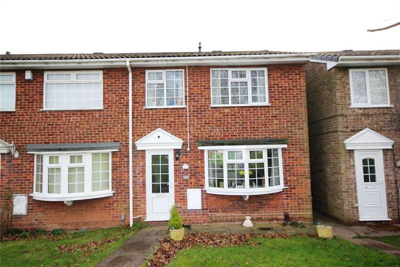 3 Bedrooms Semi Detached House for sale in The Gillies, Mansfield, Nottinghamshire, NG19