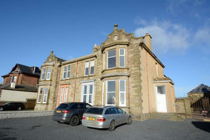 3 Bedrooms Ground Flat for sale in 17 South Crescent Road, Ardrossan, KA22 8EA
