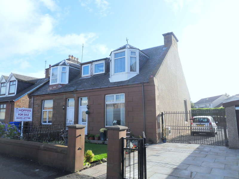 3 Bedrooms Semi Detached House for sale in Somerset Road, Ayr, KA8