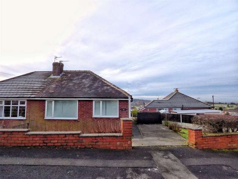 2 Bedrooms Semi Detached Bungalow for sale in Bedford Avenue, High Crompton, Shaw, Oldham, OL2