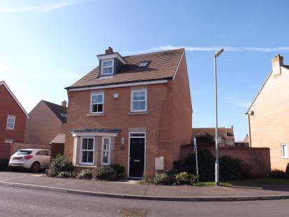 4 Bedrooms Detached House for sale in Exmoor Avenue, Biggleswade, Bedfordshire