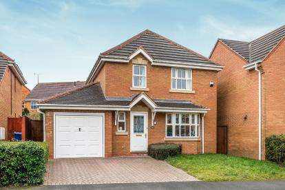 4 Bedrooms Detached House for sale in Foxtail Way, Heath Hayes, Cannock, Staffordshire