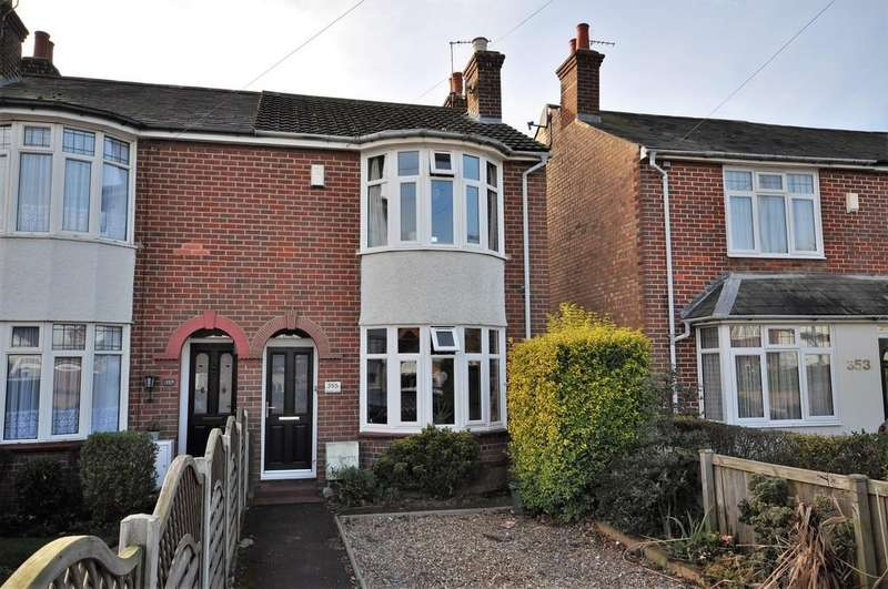 3 Bedrooms Semi Detached House for sale in Straight Road, Lexden, CO3 9EE